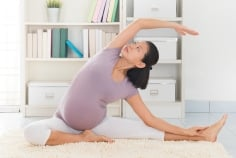 Preventing Pregnancy Constipation: Exercise callout